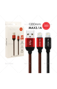 SUN GLOBAL WEAVE CABLE 3.1A I PHONE