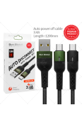 SUN GLOBAL AUTO POWER OFF CABLE 3.4A MICRO USB