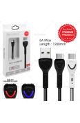 SUN GLOBAL FAST CHARGING CABLE 5A TYPE-C (LIGHT)