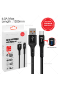SUN GLOBAL AUTO POWER OFF CABLE 6.0A MICRO USB