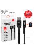 SUN GLOBAL AUTO POWER OFF CABLE 6.0A LIGHTNING