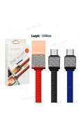 SUN GLOBAL CARBON FIBER CABLE 3.1A MICRO USB