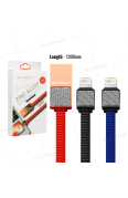 SUN GLOBAL CARBON FIBER CABLE 3.1A I PHONE